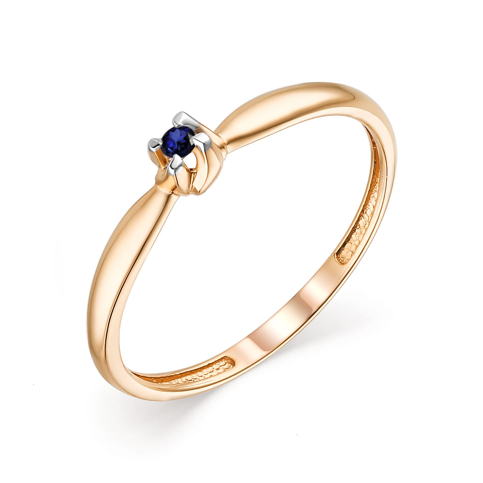 картинка кольцо 13618-102 1 сапфир  круг 0,050 1,75 2/2 13618-102