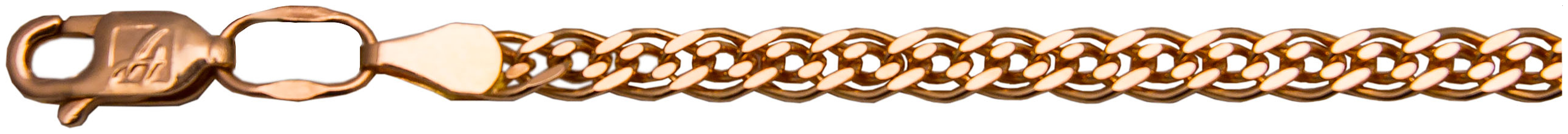 картинка цепь из золота 585° ЦН255А2-А51